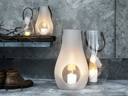Holmegaard - design with light lantern