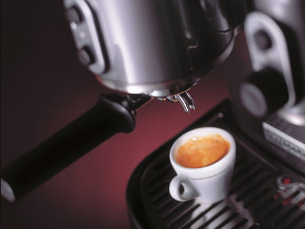 Banner, product category: Coffee machines