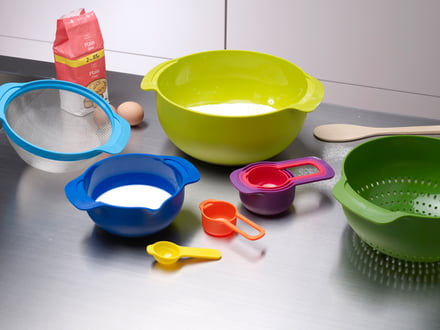 Banner, product category: Bowls and measuring cups