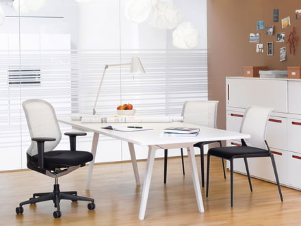 Office furniture from top brands such as Vitra
