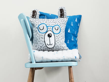 ferm Living - Little Mr Teddy Cushion