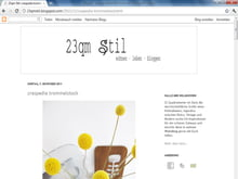 Design-Blog: 23qm Stil