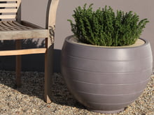 Outdoor-planting pots