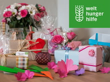 Gift donations of the German Agro Action Welthungerhilfe