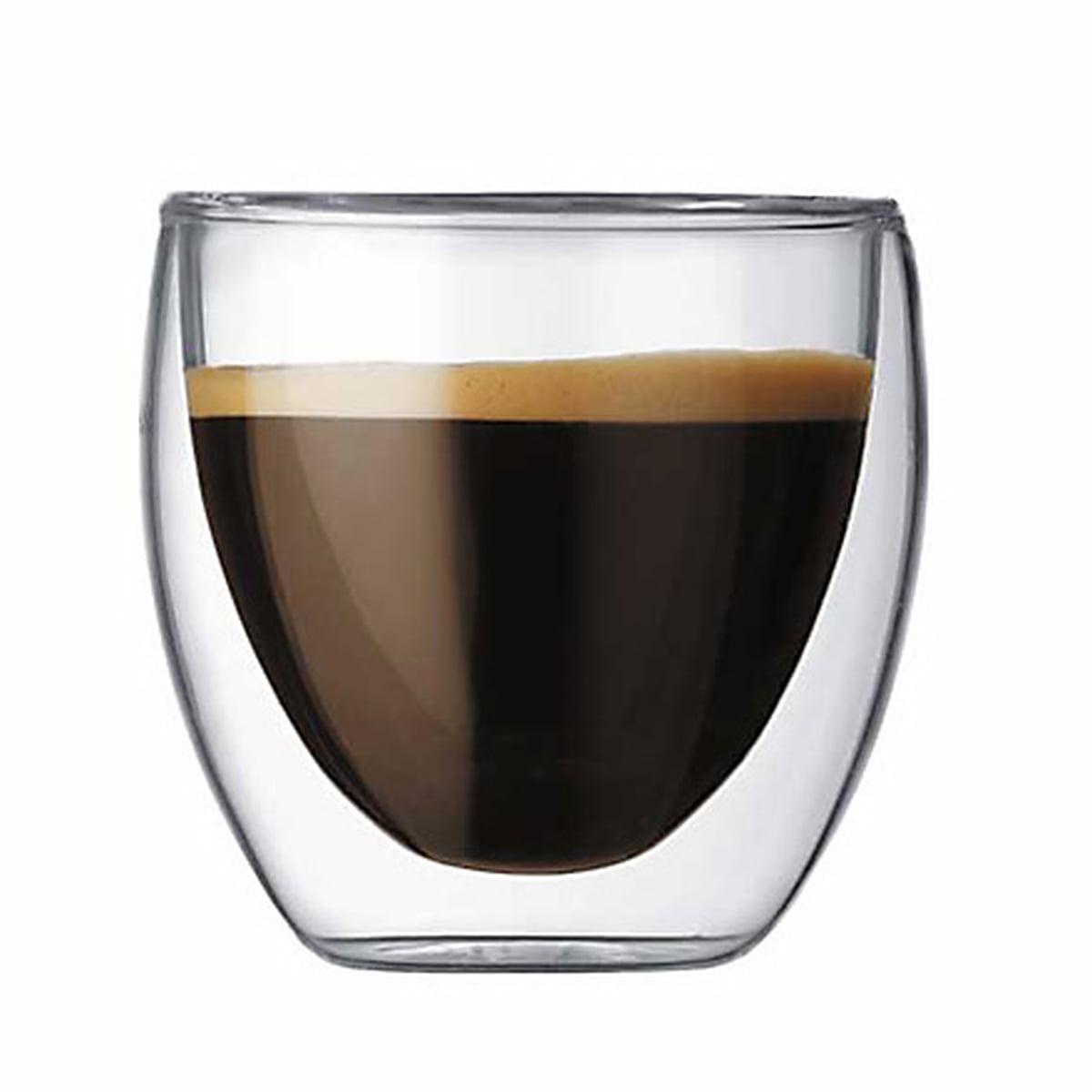 Bodum Pavina ダブルウォールグラス 80ml 2p 4557 10 激安価格 竹中funaのブログ