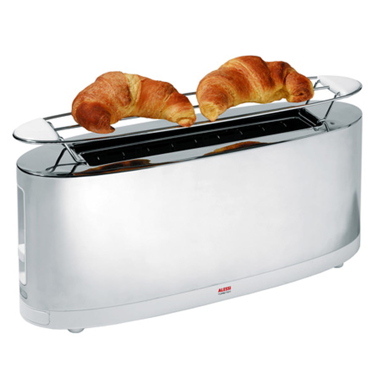 alessi toaster sg w by stefano giovannoni - toaster sg