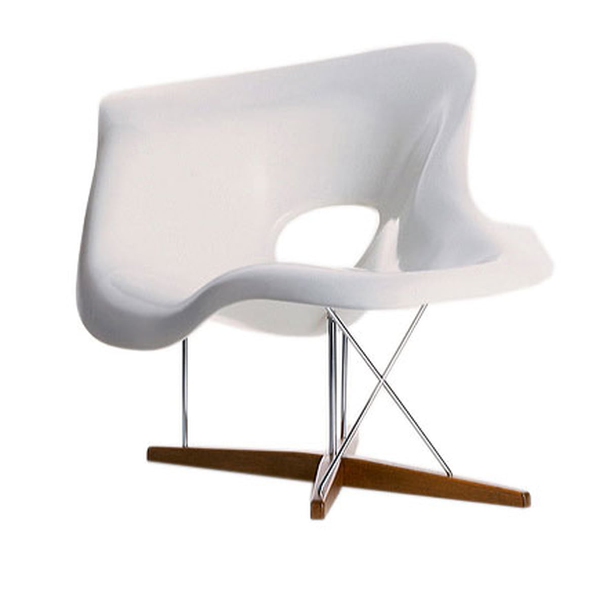 La chaise vitra shop for Chaise bascule eames vitra