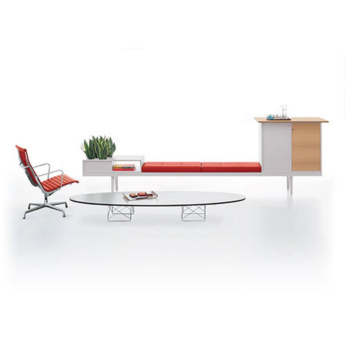 elliptical table etr  vitra  shop - elliptical table vitra