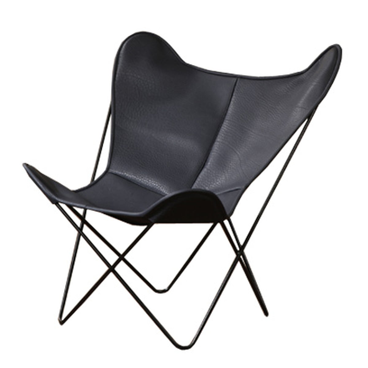 Butterfly chair black - Manufakturplus Butterfly B K F Chair