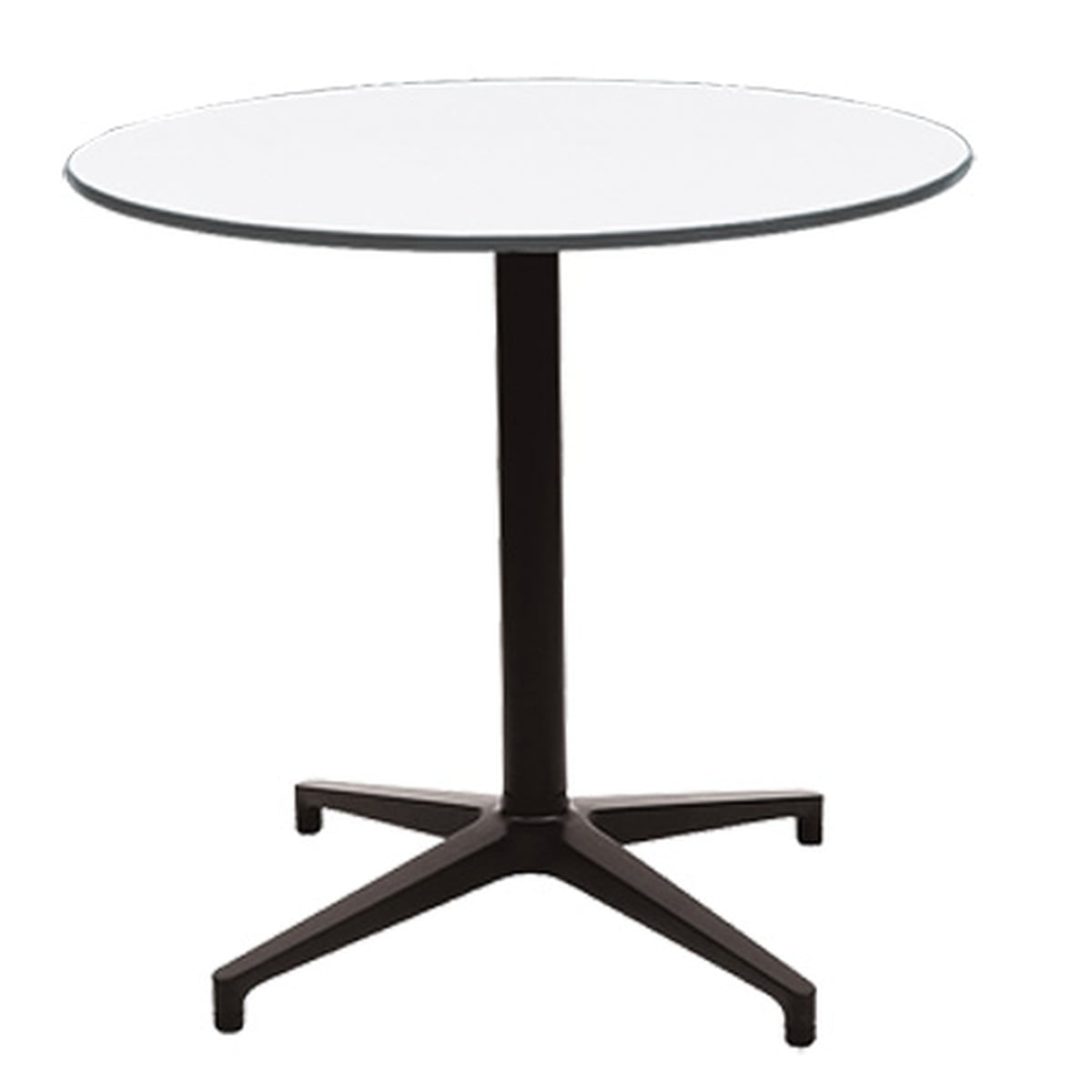 ... Vitra Bistro Table Rund Ø 79 6 Cm Weiß · 19th Century French Paris Round  White ...