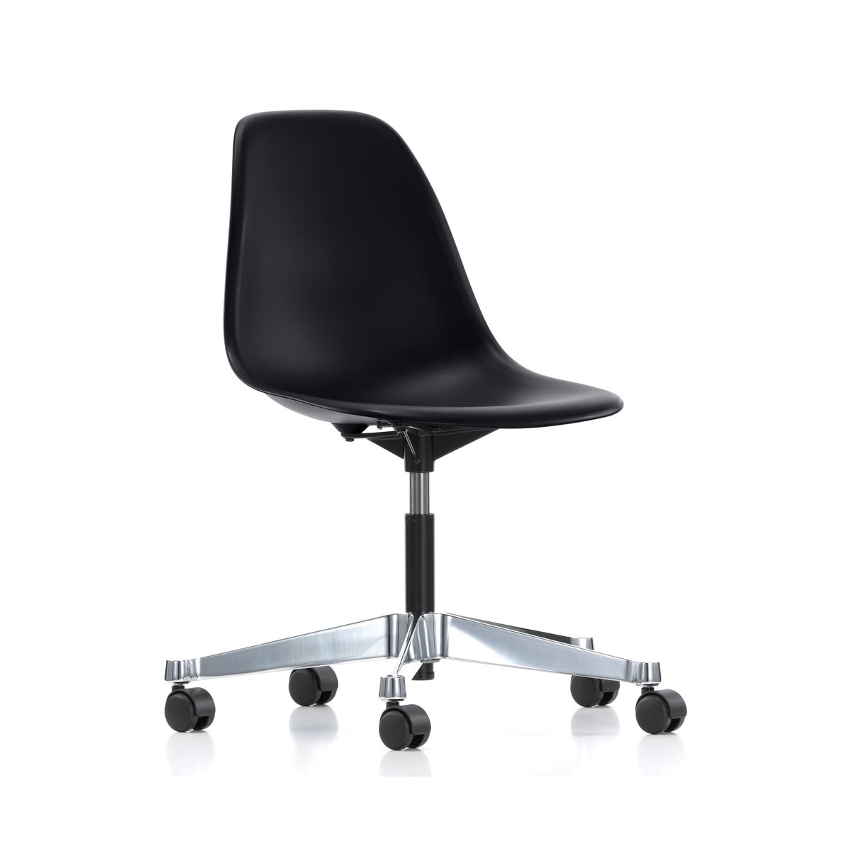 Eames plastic chairs all office - Vitra Eames Plastic Side Chair Pscc