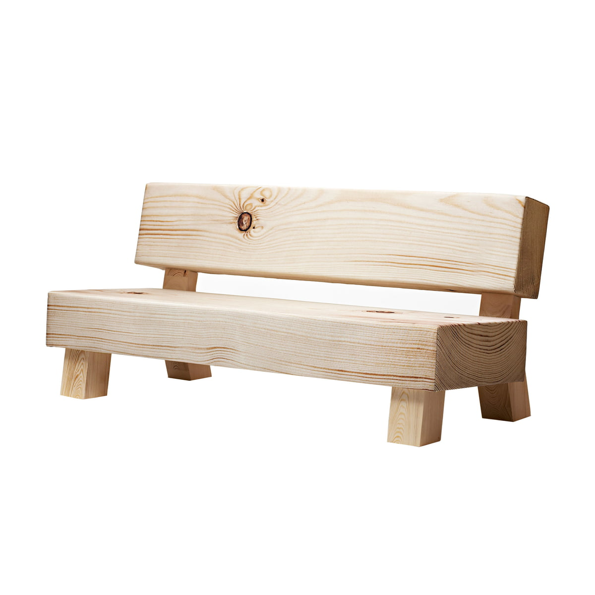 Outdoor wood sofa - Soft Wood Couch