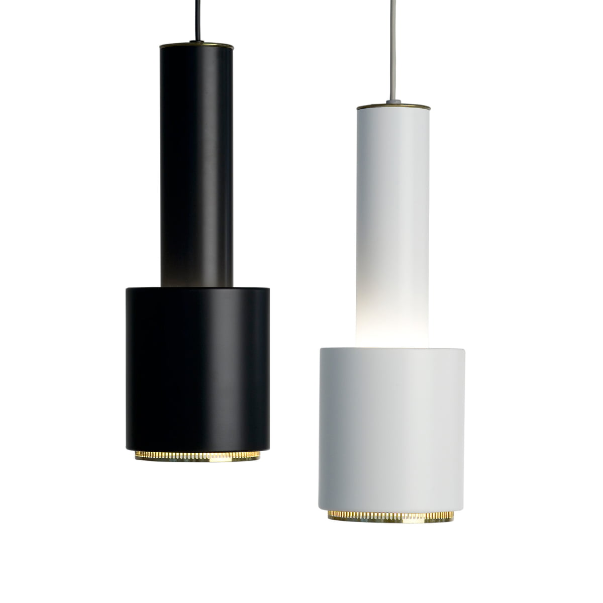 Pendant lamp a110 hand grenade by artek for Replica leuchten