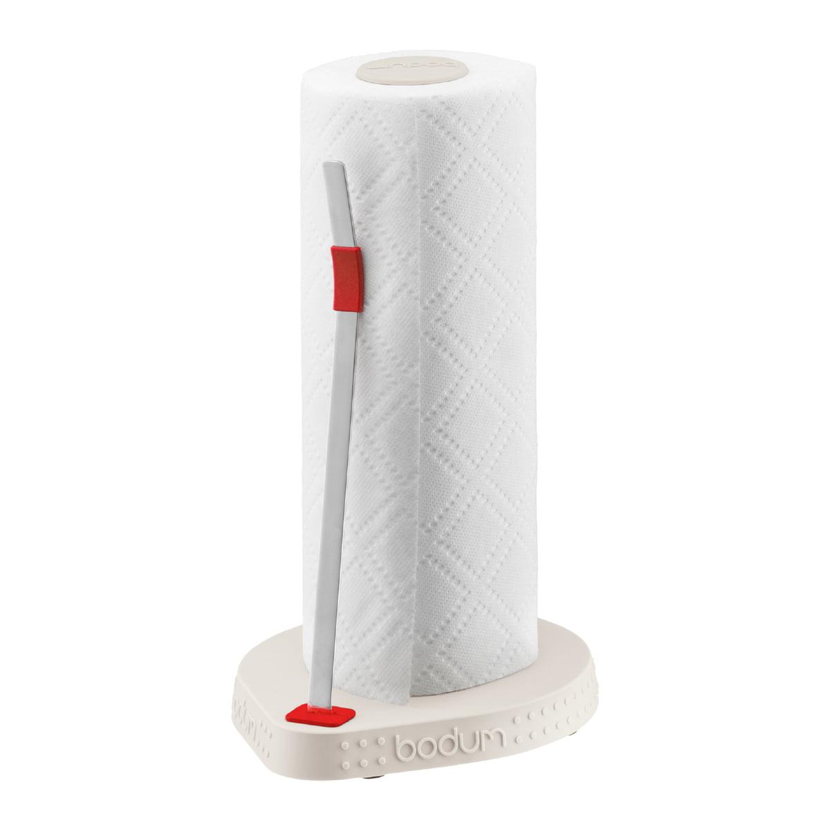 Bodum   Bistro Kitchen Roll Holder, Cream