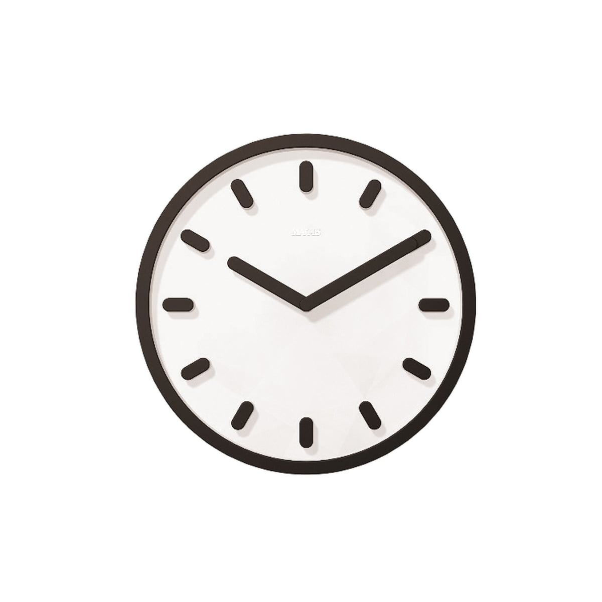 Black And White Wall Clock tempo wall clock | magis | shop