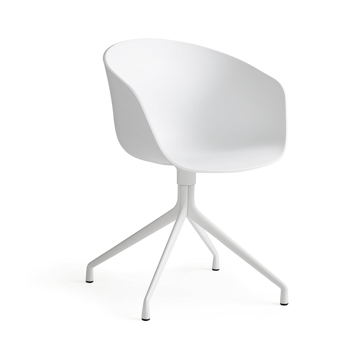 hay about a chair four leg frame with armrests white chair aac 22 hay