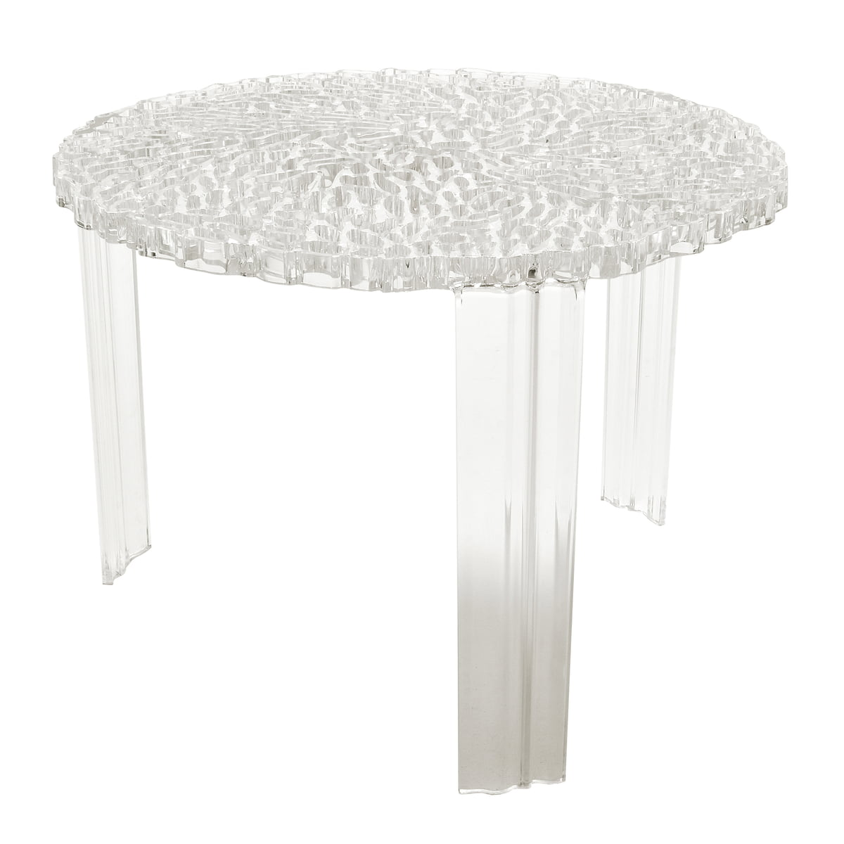 T table kartell shop - Table gigogne plexiglas ...
