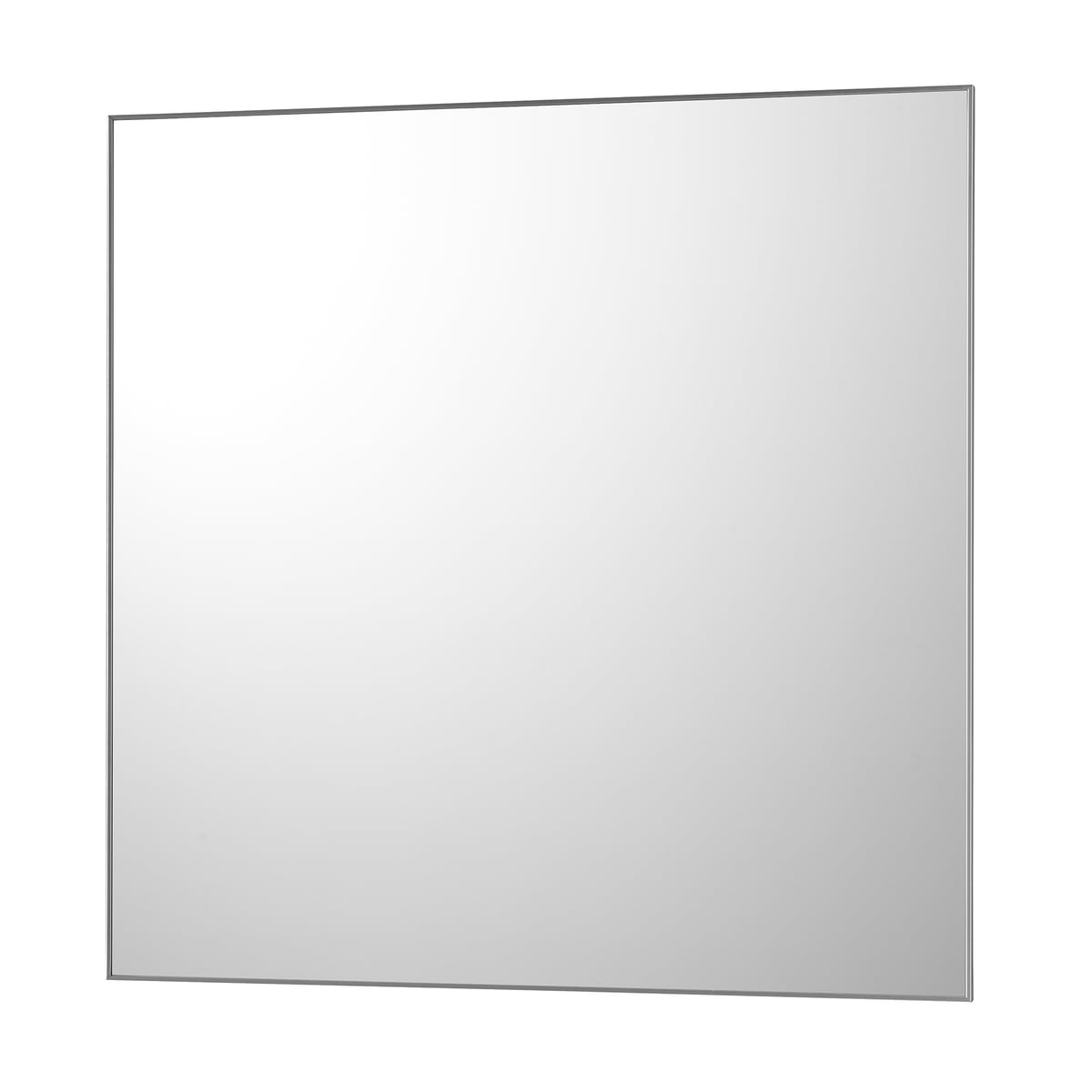 Driade no frame wall mirror square for Square mirror