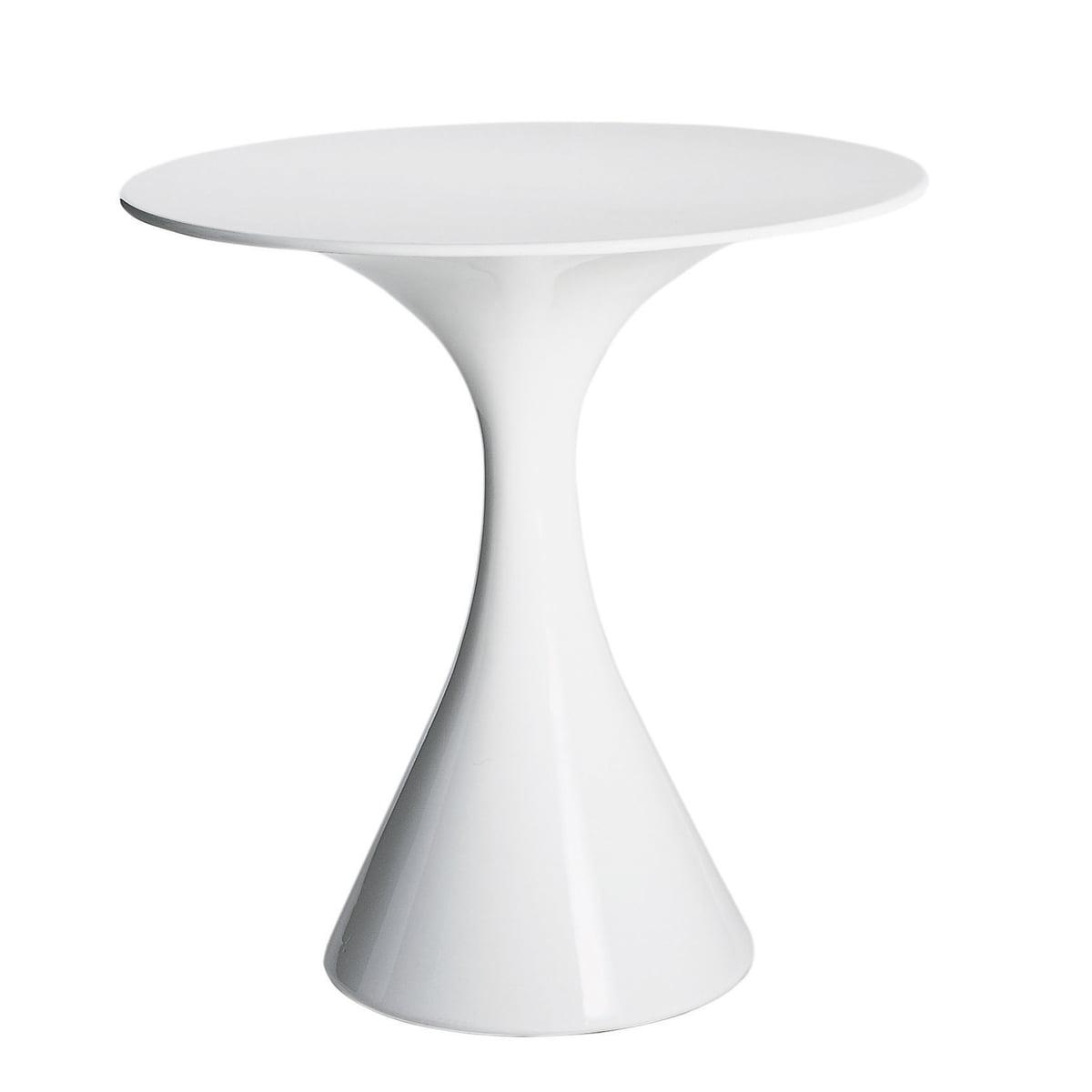 driade kissi kissi bistro table white