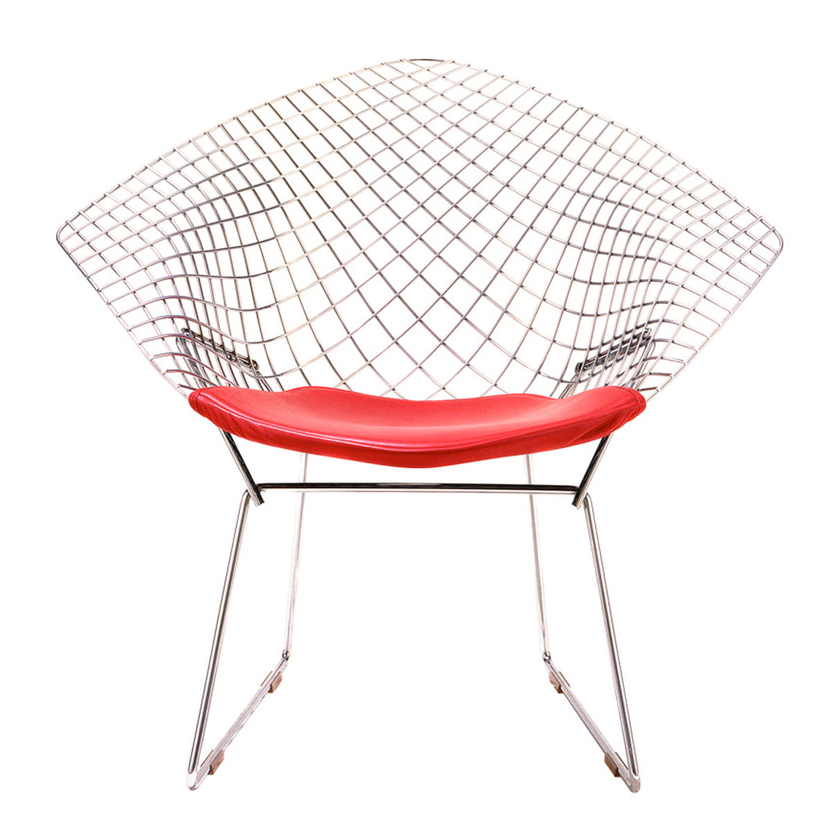 Bertoia diamond chair dimensions - Knoll Bertoia Diamond Lounger