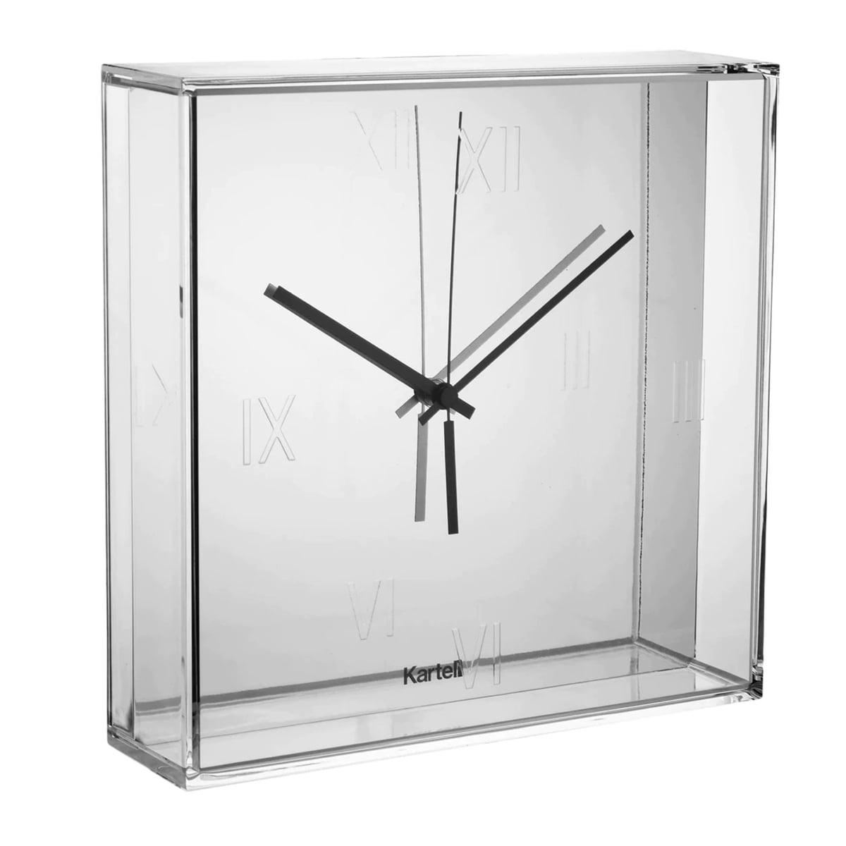tic  tac wall clock  kartell  shop - kartell  tic  tac wall clock