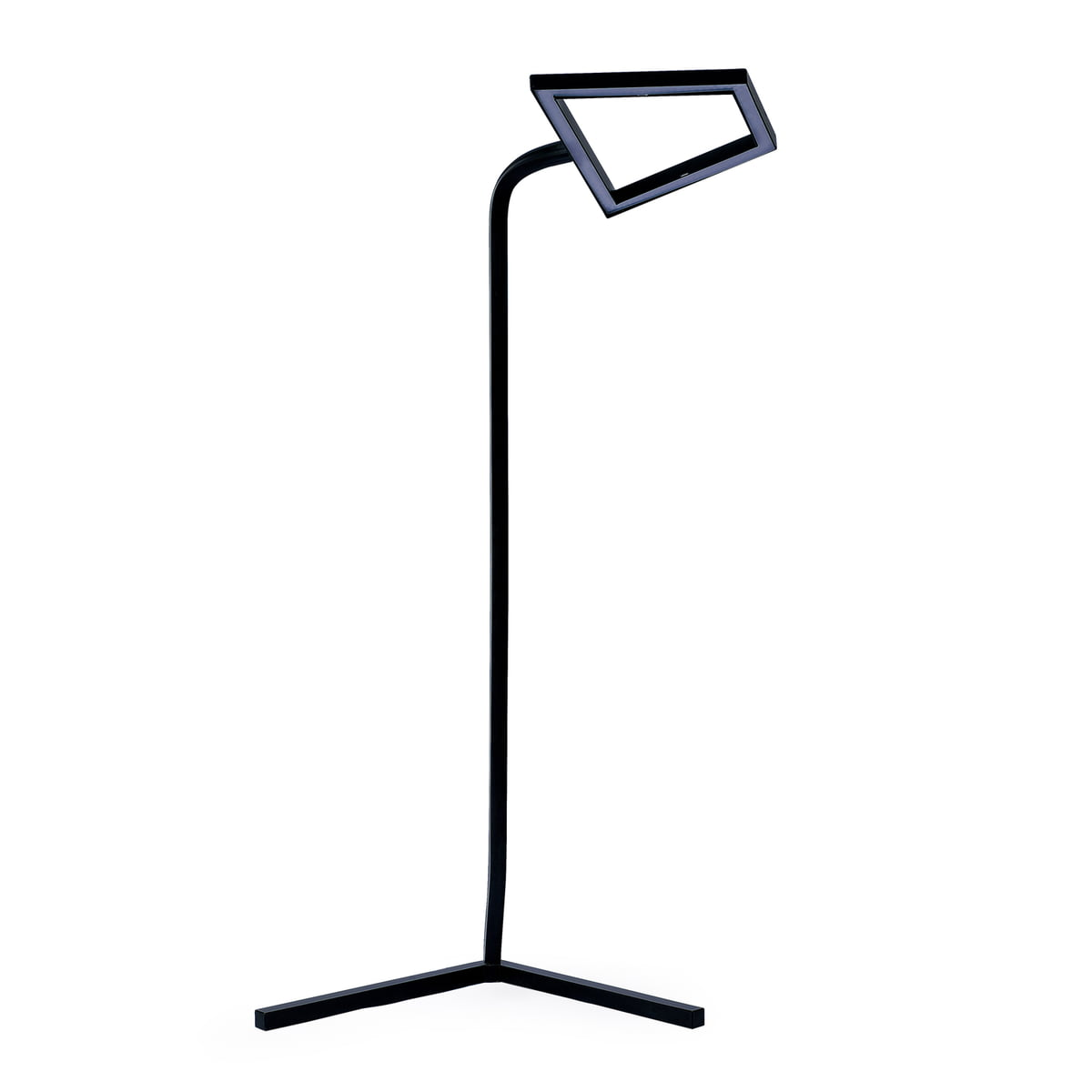 skitsch 2d led floor lamp black