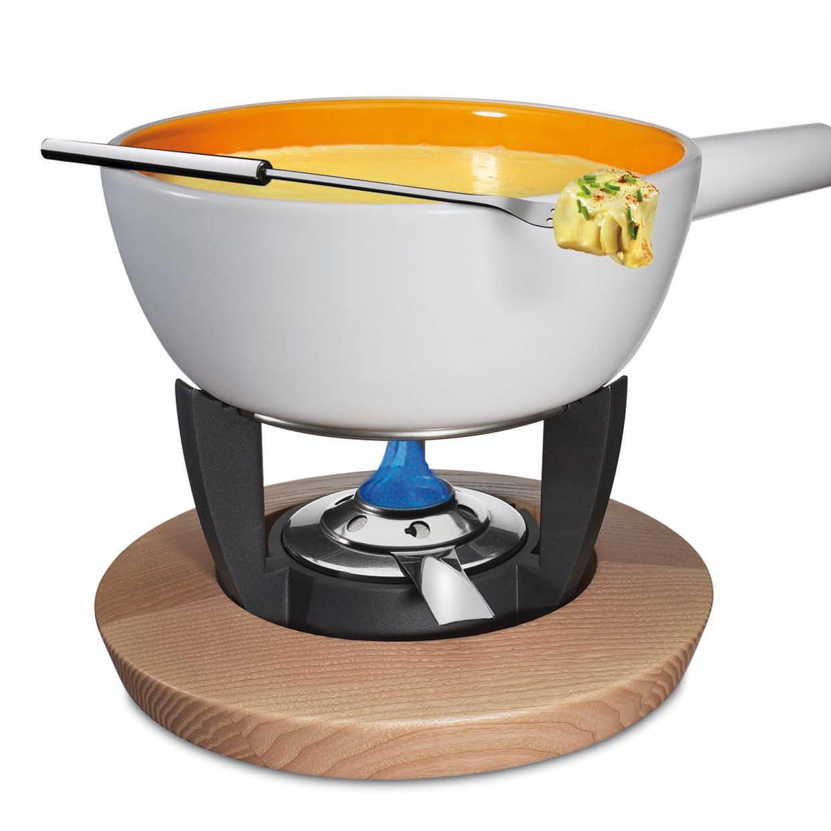 spring fondue rechaud chalet with fuel burner. Black Bedroom Furniture Sets. Home Design Ideas