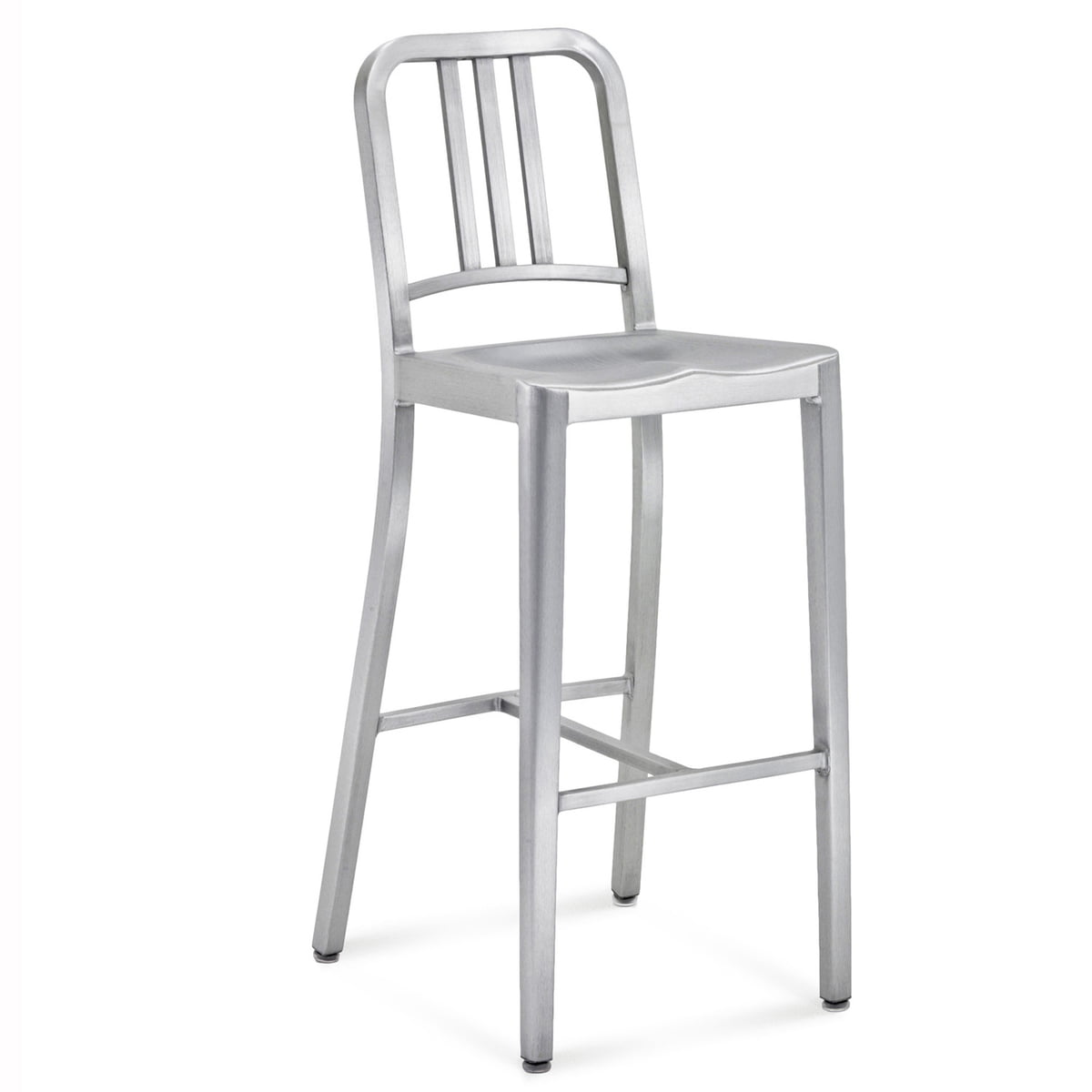 navy bar stool  emeco  shop - emeco  navy bar stool