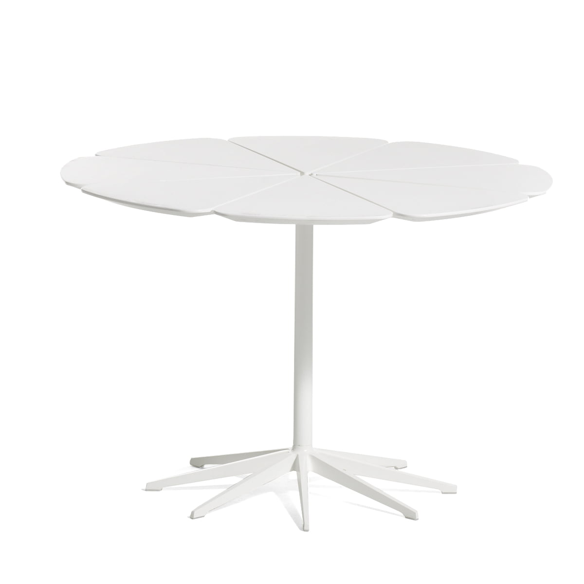 Knoll   Petal White Dining Table