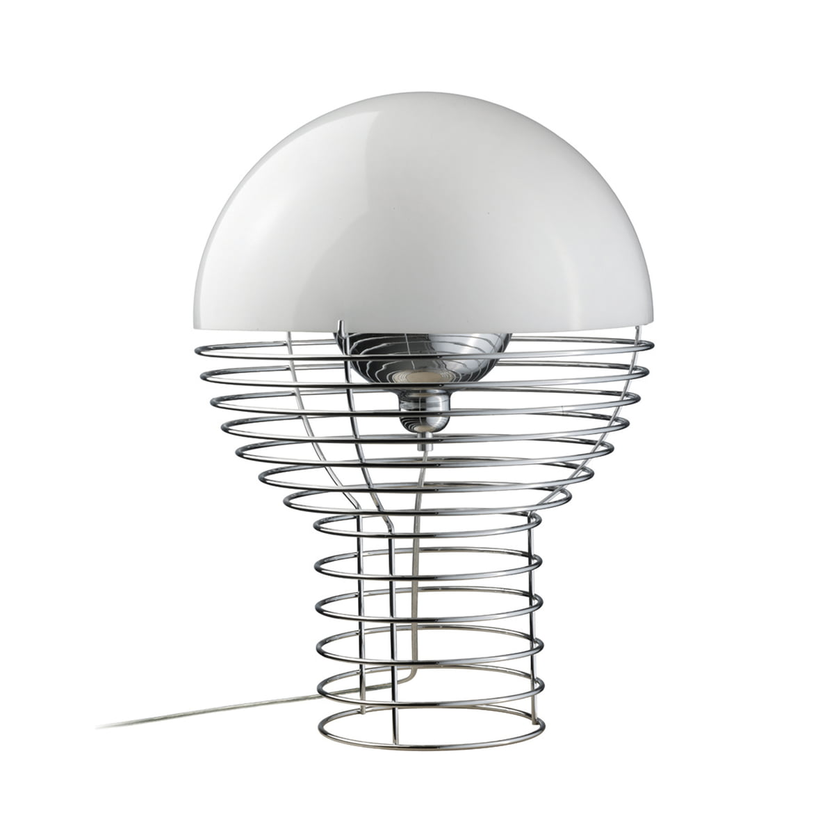 Verpan   Wire Table Lamp, Small