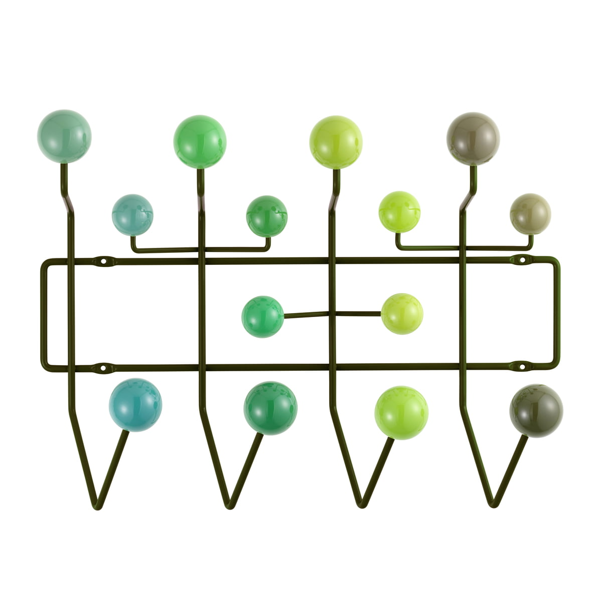 hang it all coat rack by vitra in our shop. Black Bedroom Furniture Sets. Home Design Ideas