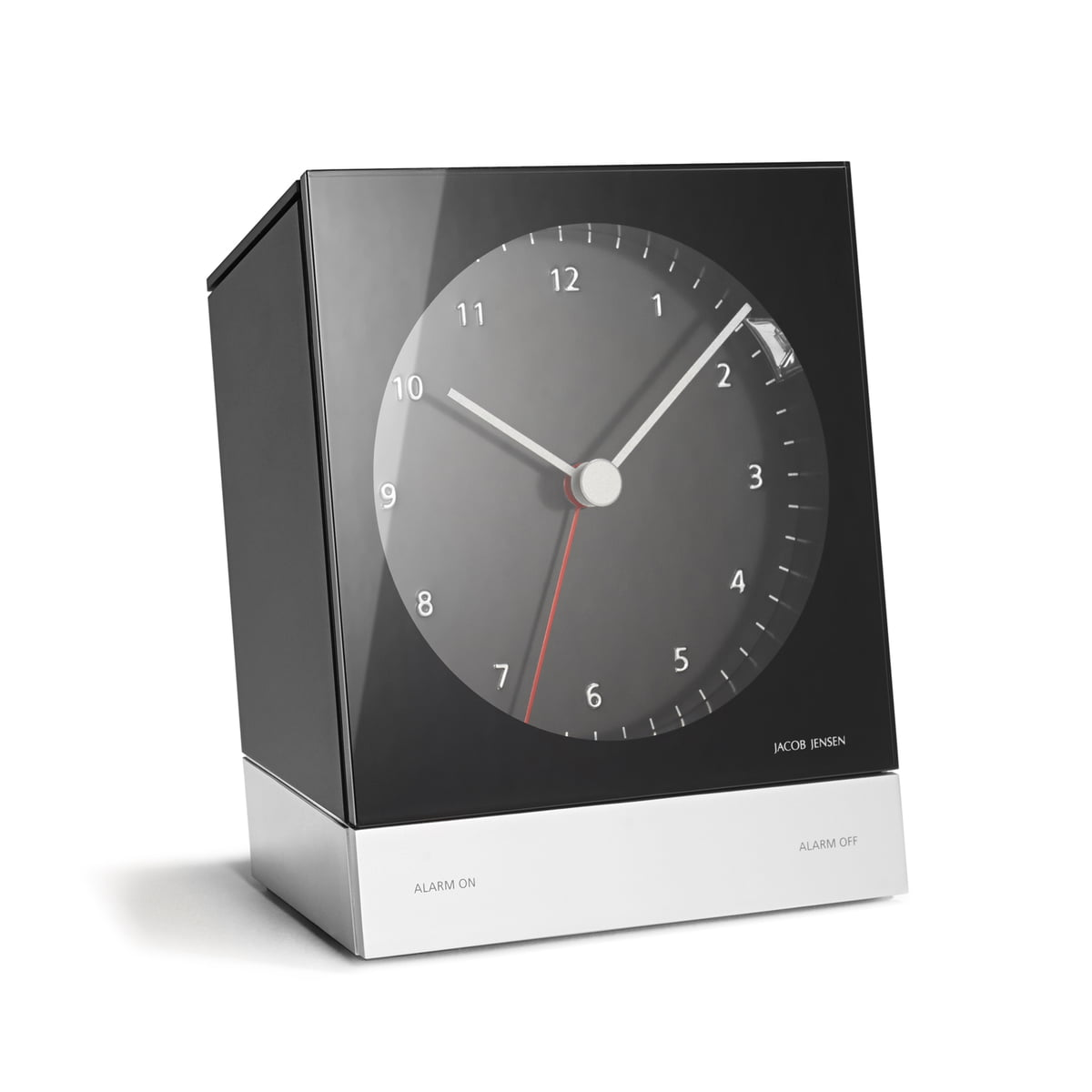 the jacob jensen alarm clock series quartz
