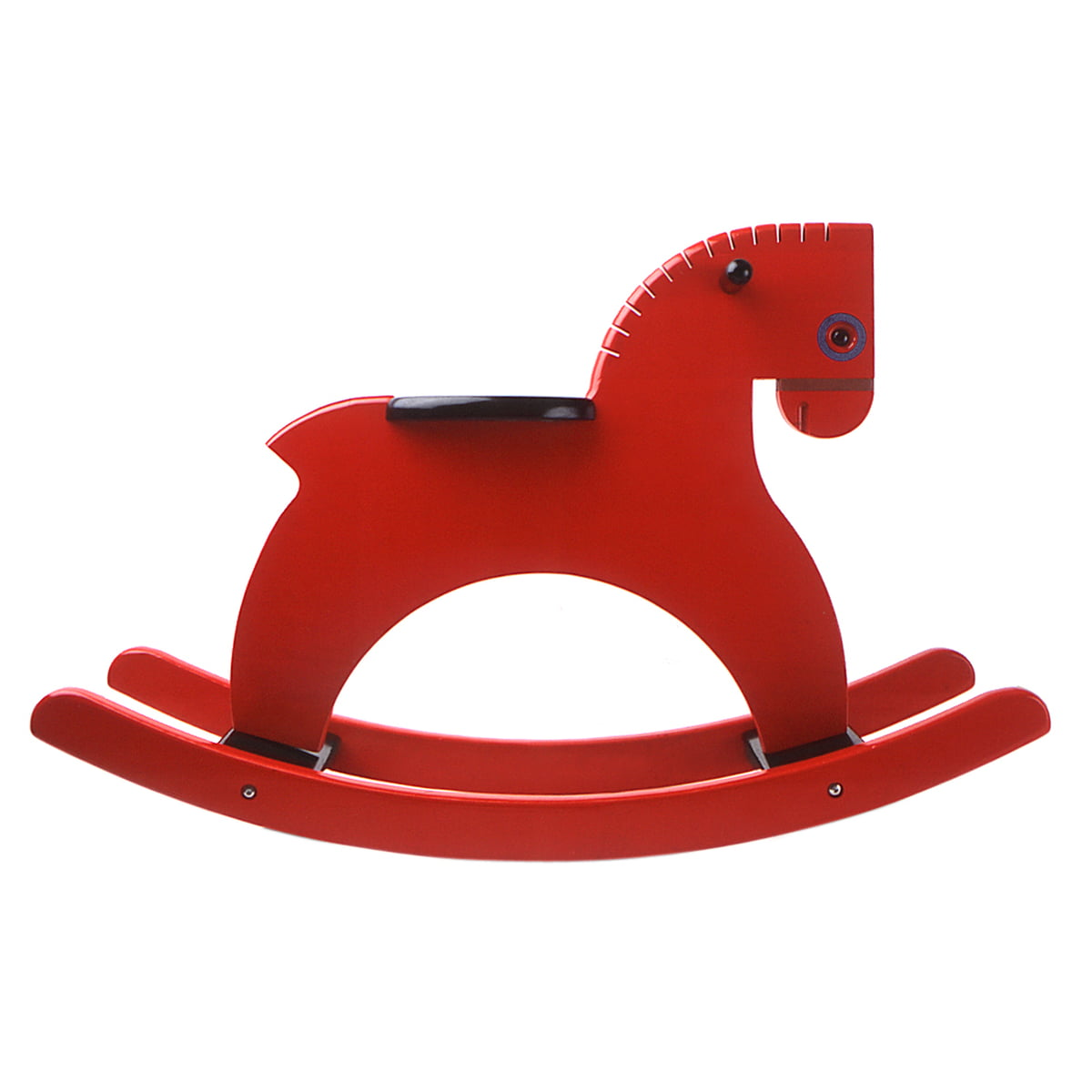 the rocking horse by playsam in the shop - playsam  rocking horse red