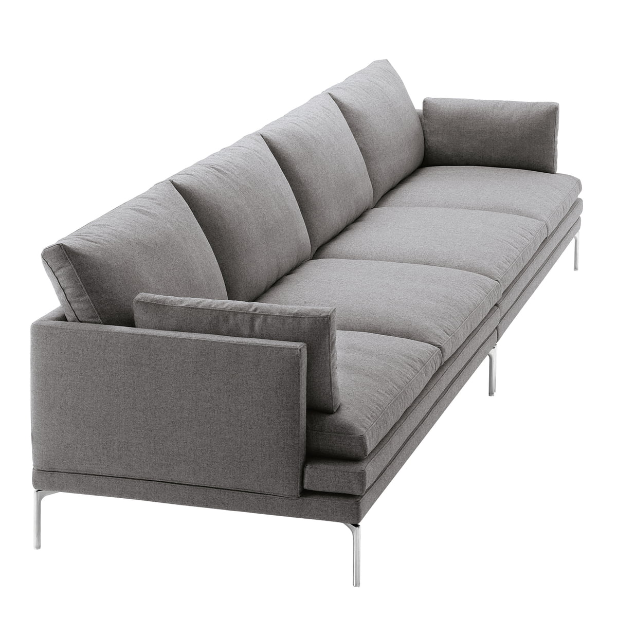Image gallery sofas zanotta for Sofa 4 sitzer landhausstil