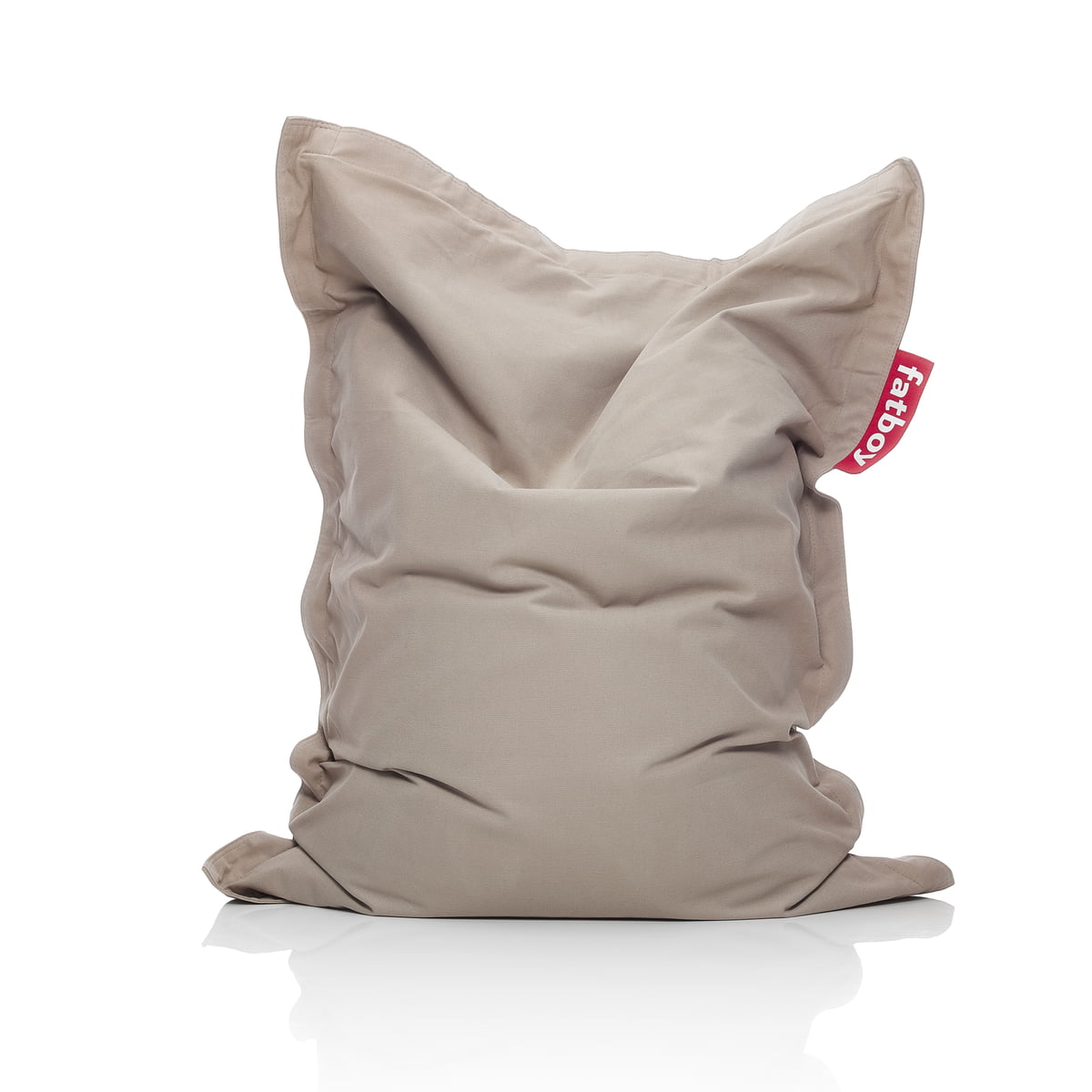 the junior beanbag stonewashed by fatboy - fatboy  junior stonewashed beanbag sand