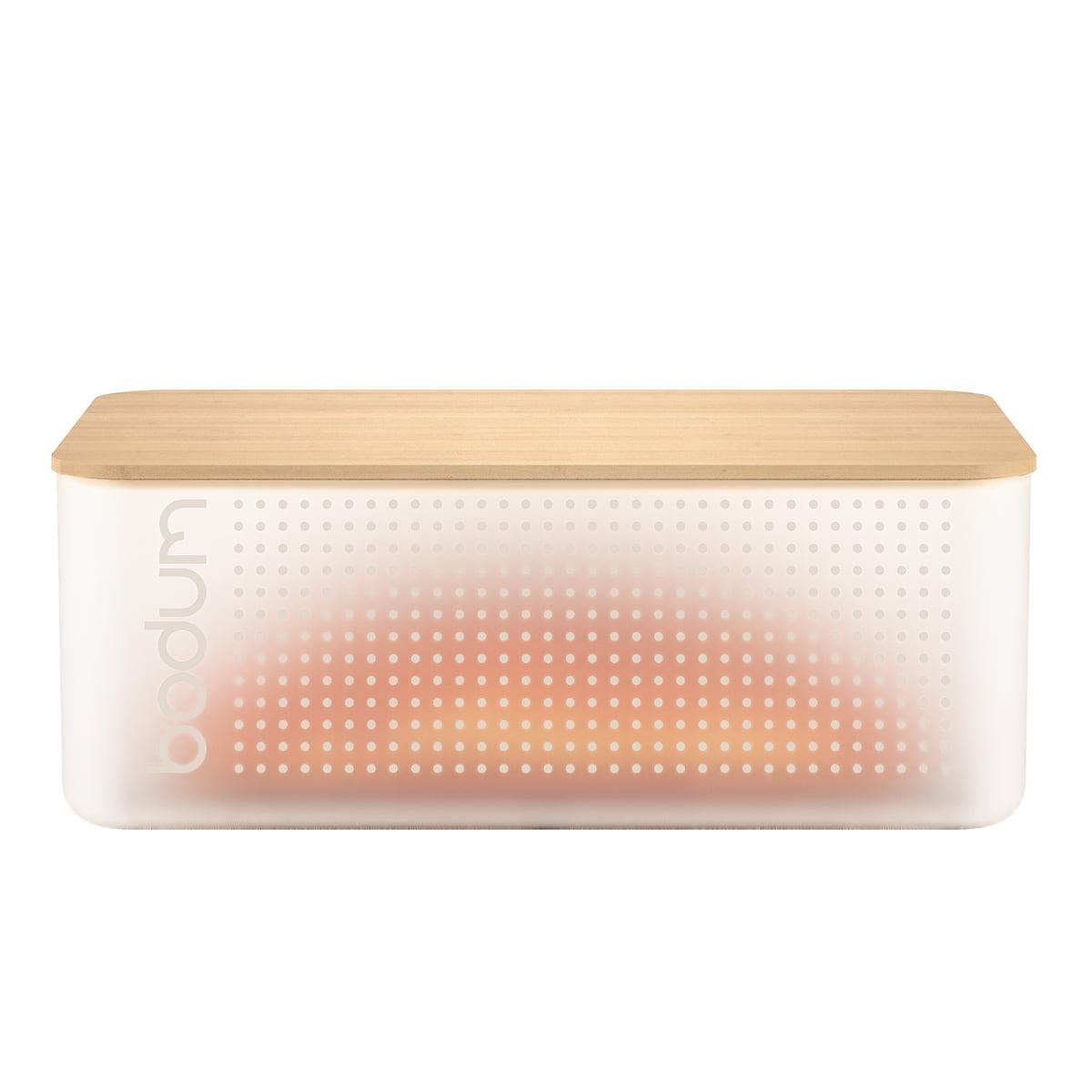 the bistro bread box by bodum in the shop. Black Bedroom Furniture Sets. Home Design Ideas