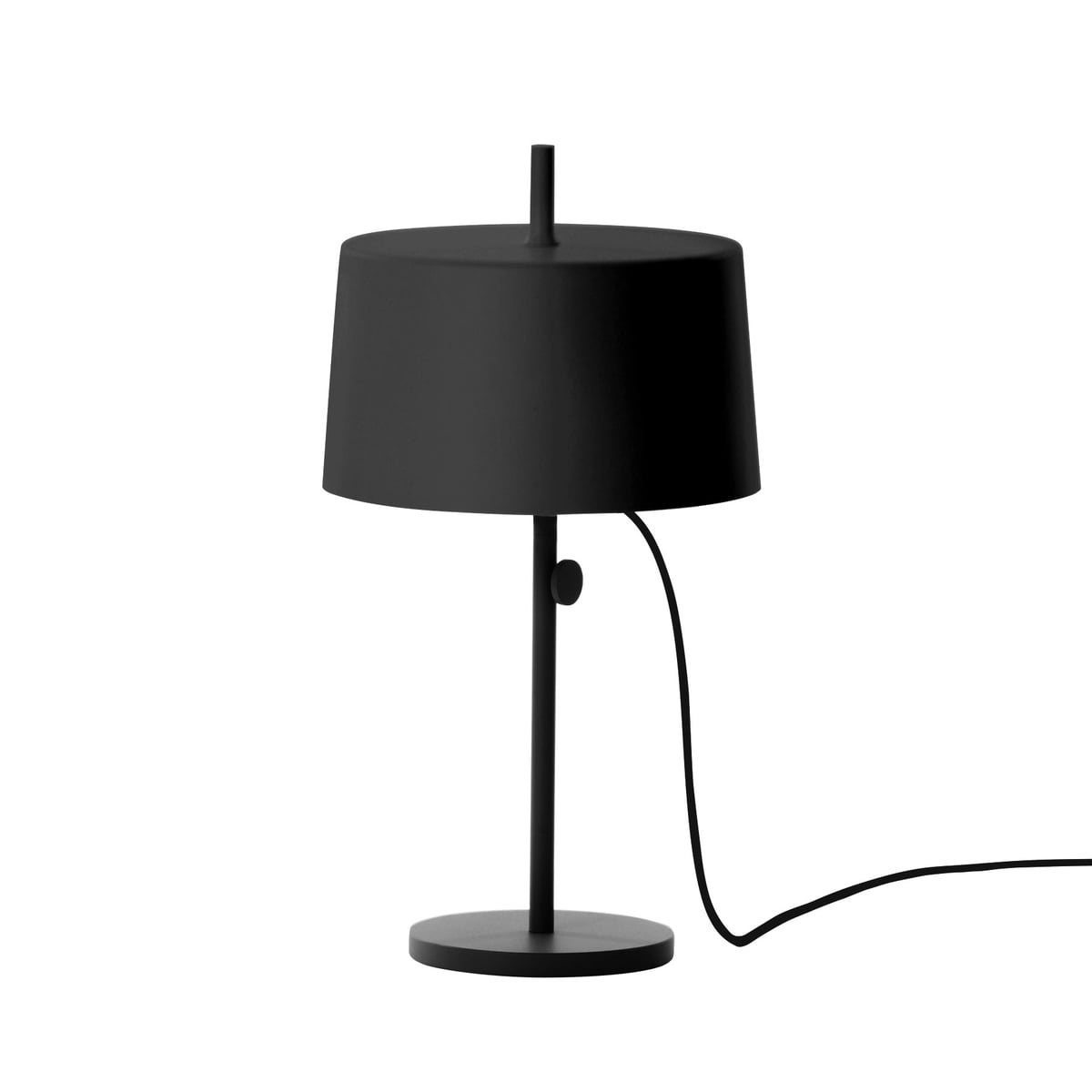 Wästberg   Nendo Table Lamp Cylinder W132t2, Black