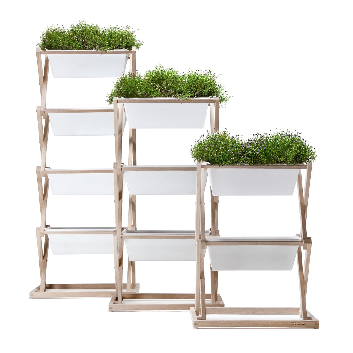 the vertical garden by urbanature in the shop, Gartenarbeit ideen