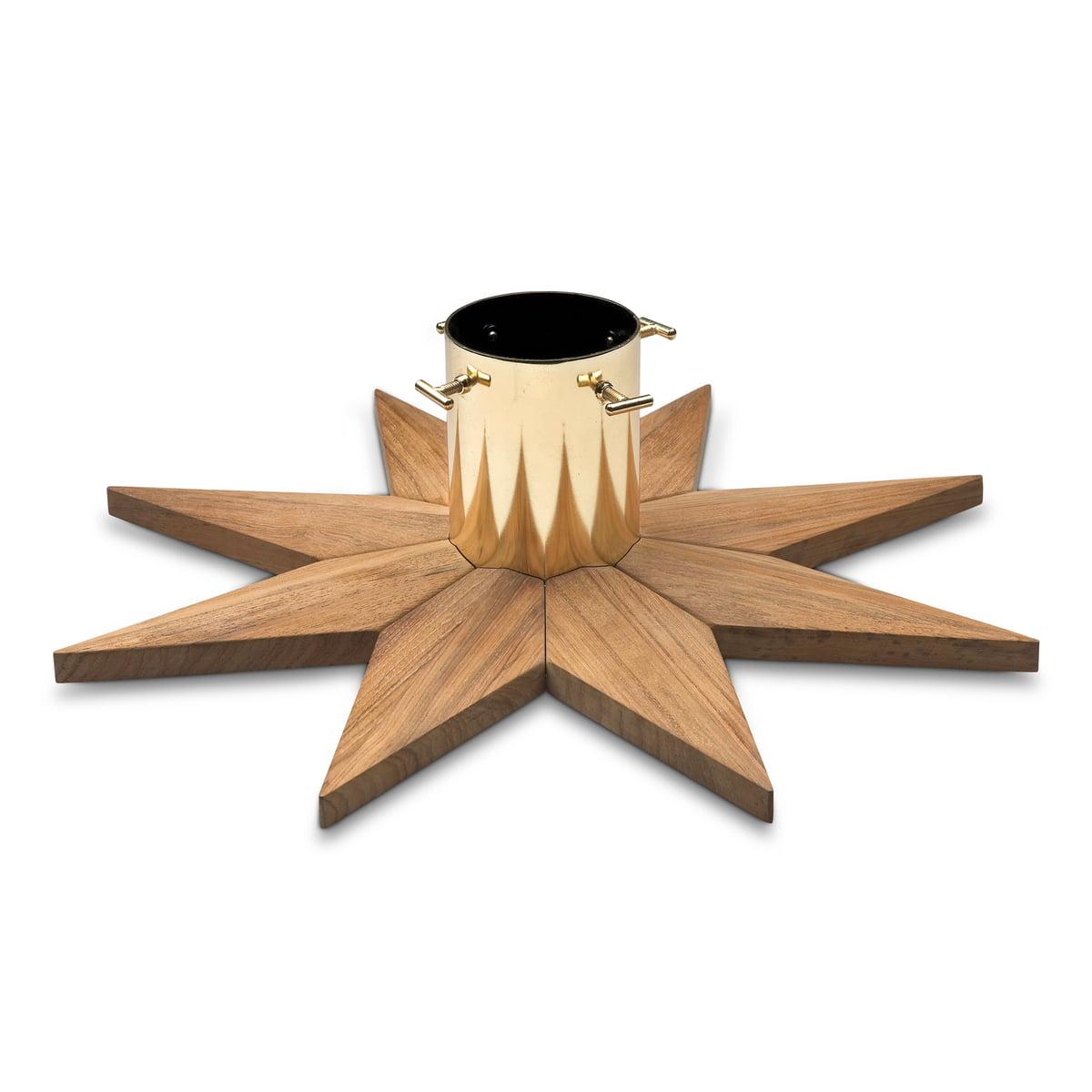 Enjoyable Christmas Tree Base Teak Wood By Skagerak Easy Diy Christmas Decorations Tissureus