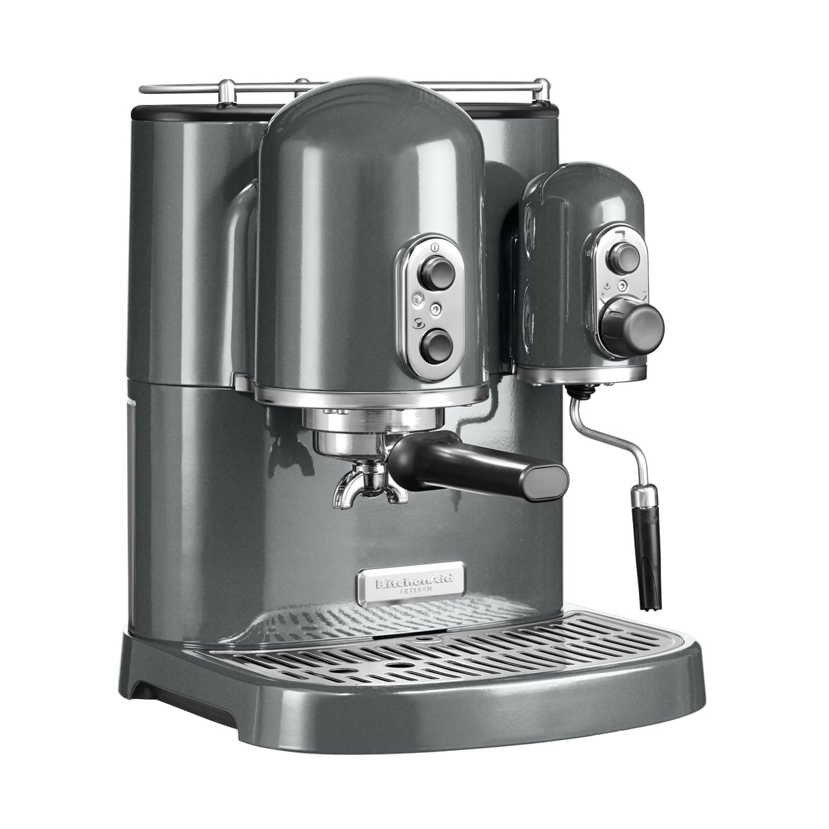 Plain Kitchenaid Artisan Espresso Machine Anthracite V For Design Decorating