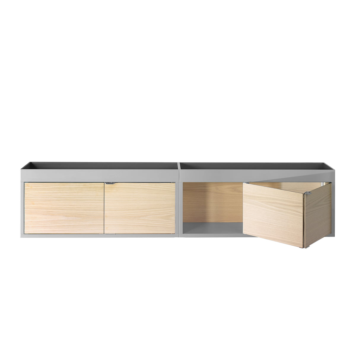 Shop Wall Cabinets New Order Wall Mounted Shelf By Hay In The Design Shop