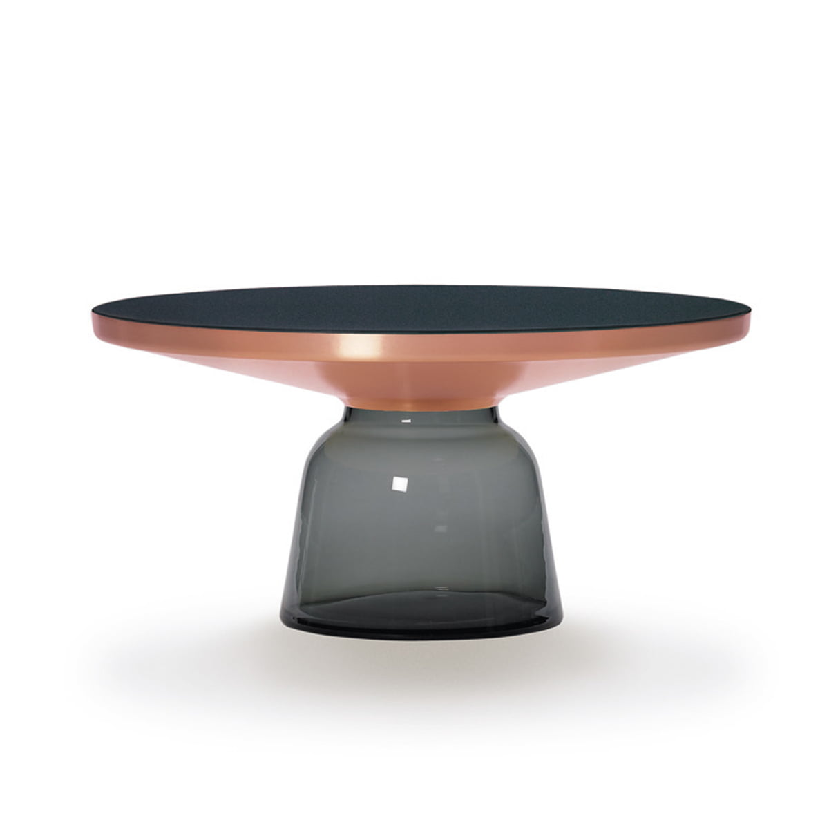 Bell Coffee Table Copper Grey