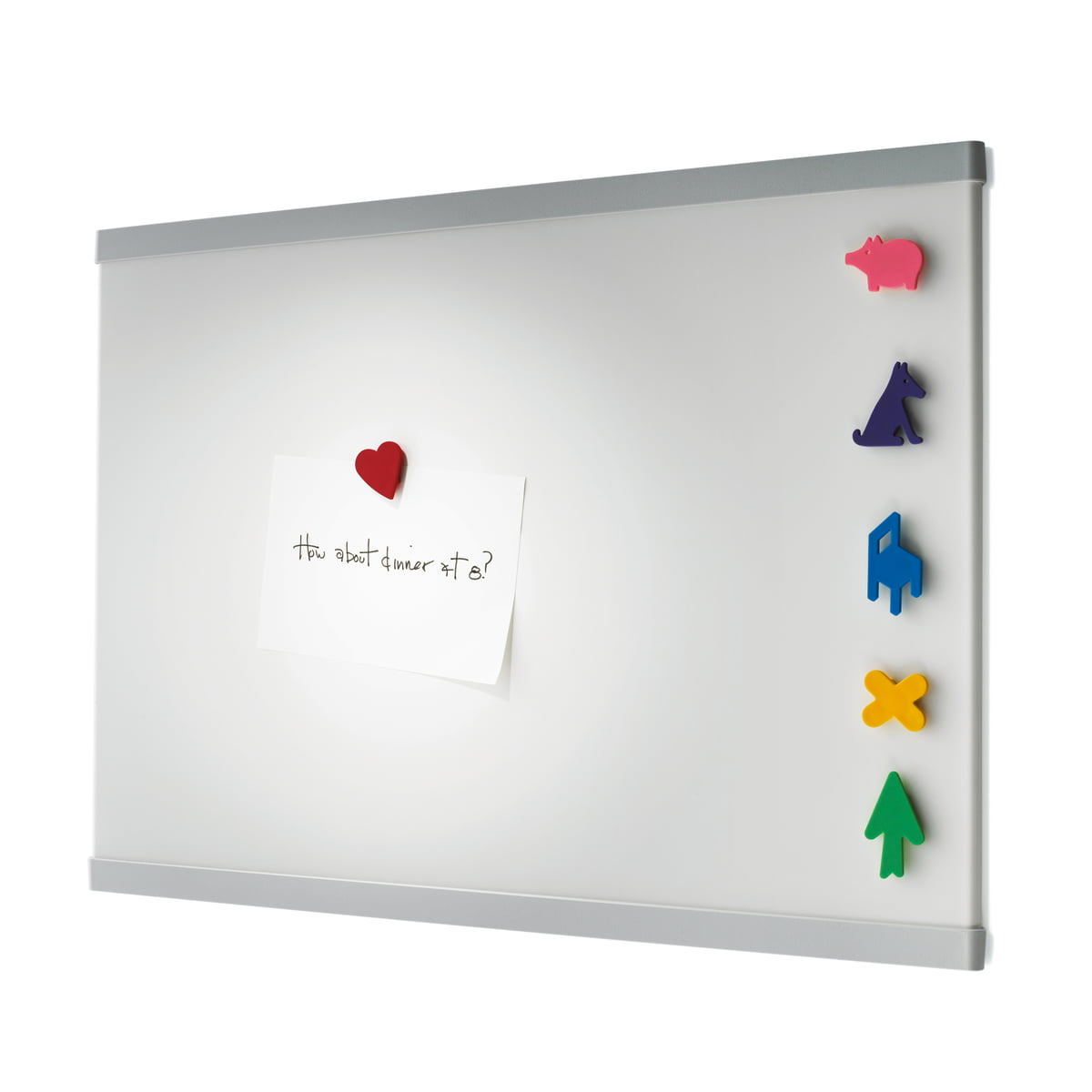 the memo magnetic board from magis in the shop magis memo notice board
