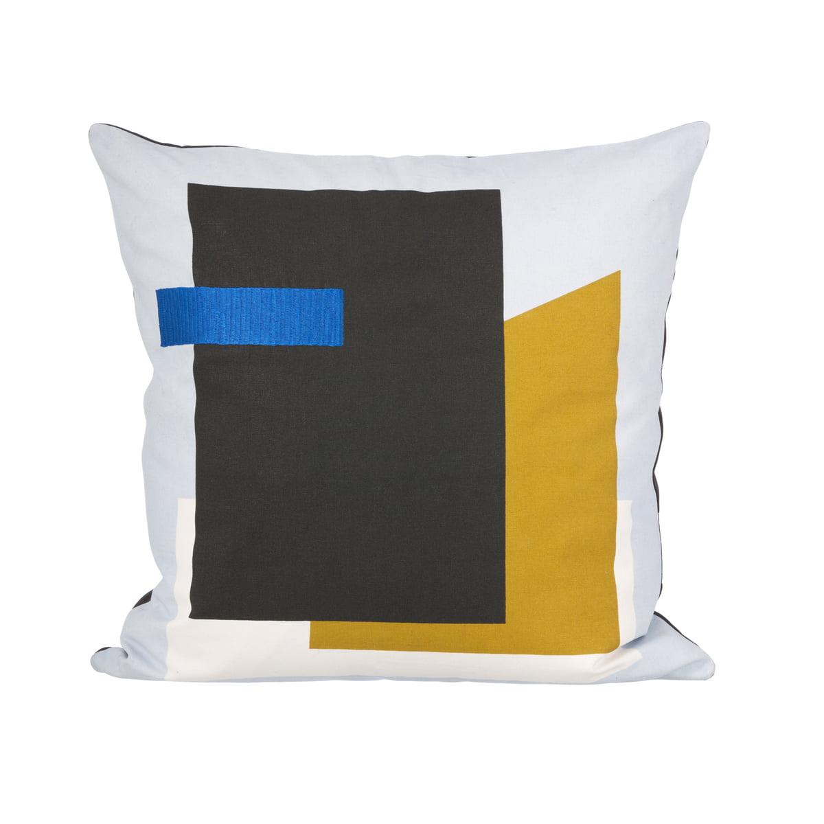 Ferm Living   Fragment Cushion, Light Blue