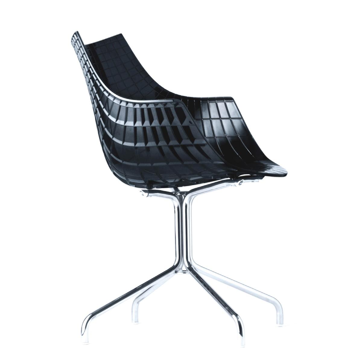 driade meridiana armchair black