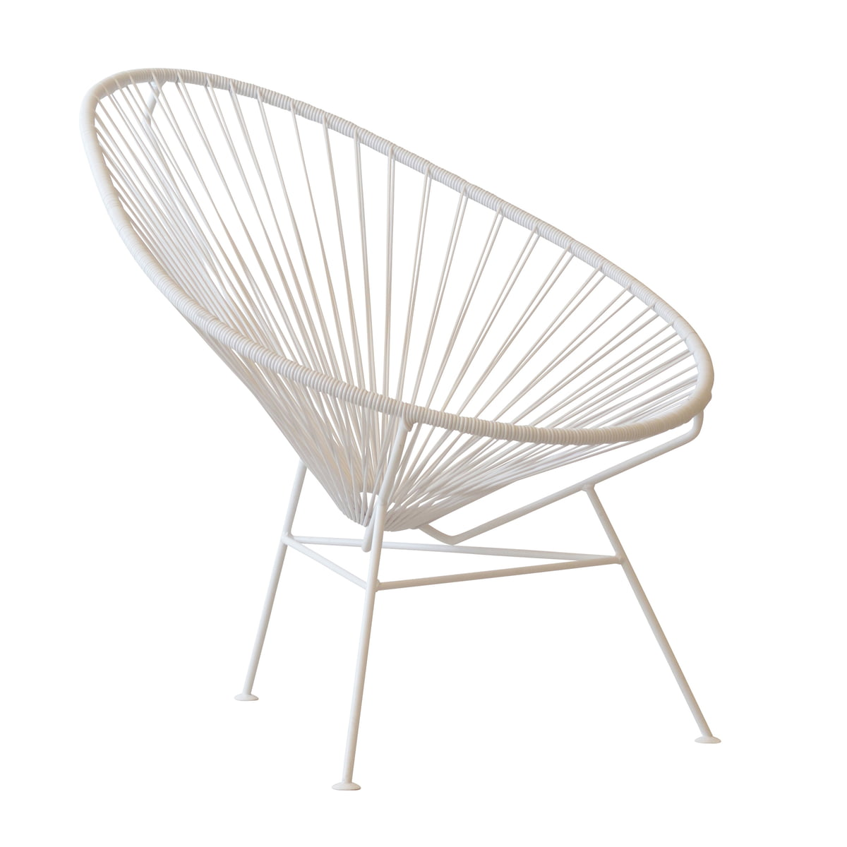 Acapulco chair dimensions - Ok Design The Acapulco Chair White