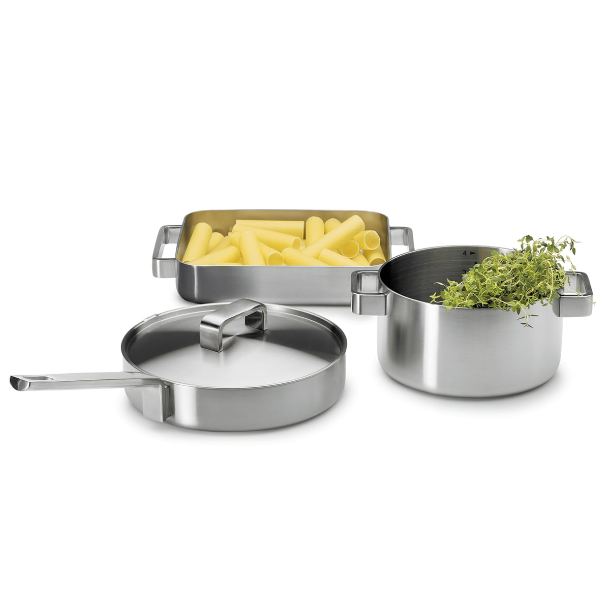 Iittala - Tools sauté pan with lid - Iittala - Tools products designed with professionals