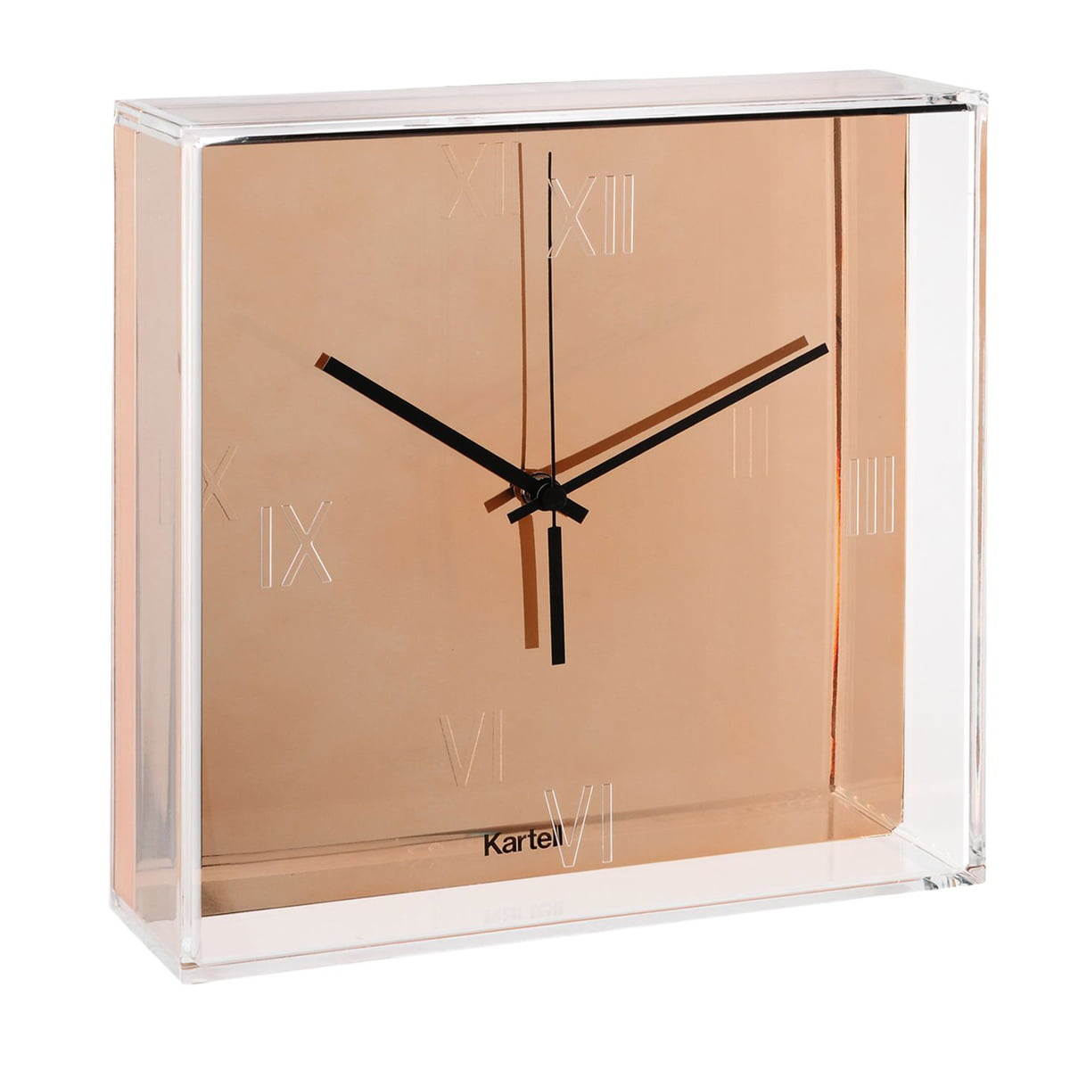 tic tac wall clock kartell shop. Black Bedroom Furniture Sets. Home Design Ideas