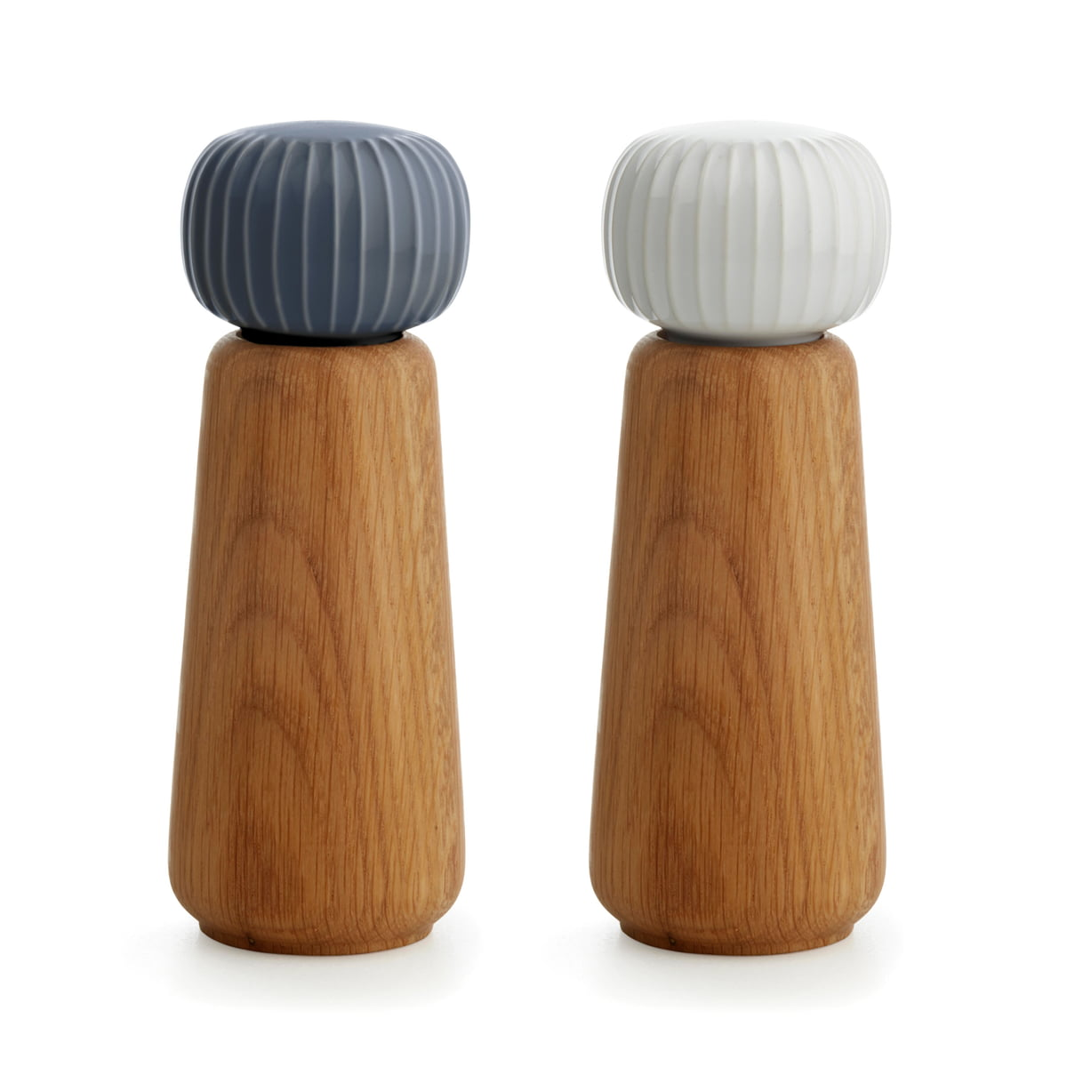 salt and pepper grinders by k hler. Black Bedroom Furniture Sets. Home Design Ideas