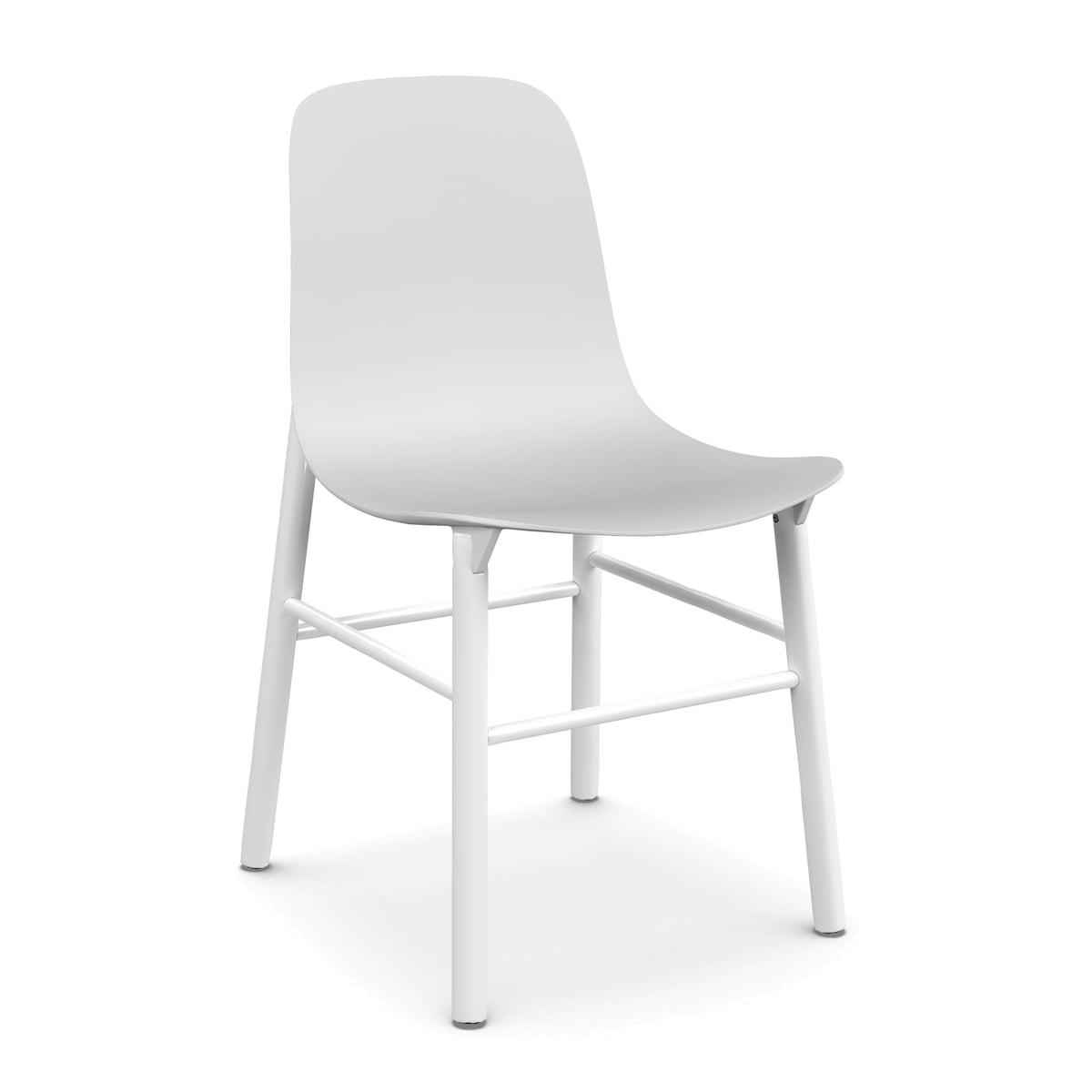 Kristalia   Sharky Chair In White